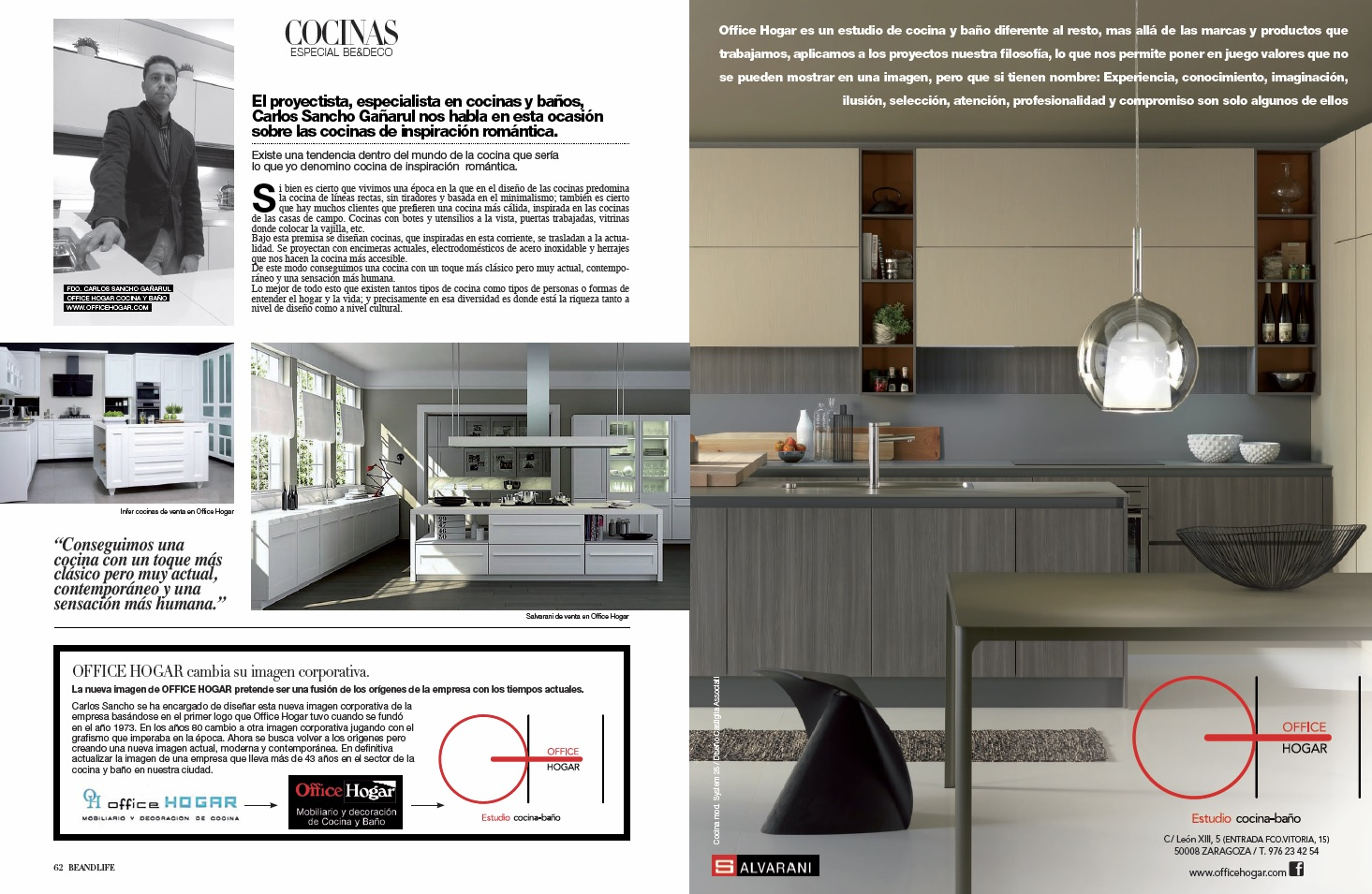 Office Hogar | Artículo revista Beandlife nº85 por Carlos Sancho
